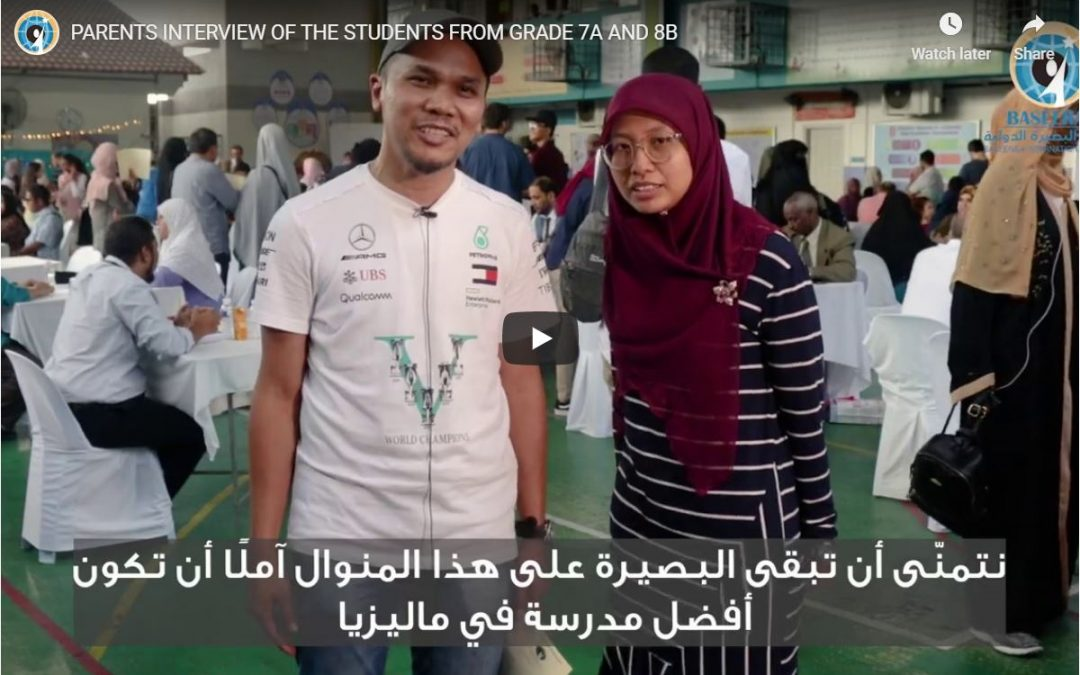 PARENTS INTERVIEW OF THE STUDENTS FROM GRADE 7A AND 8B