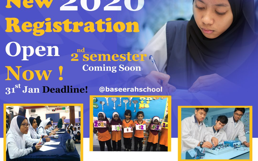 NEW REGISTRATION 2020