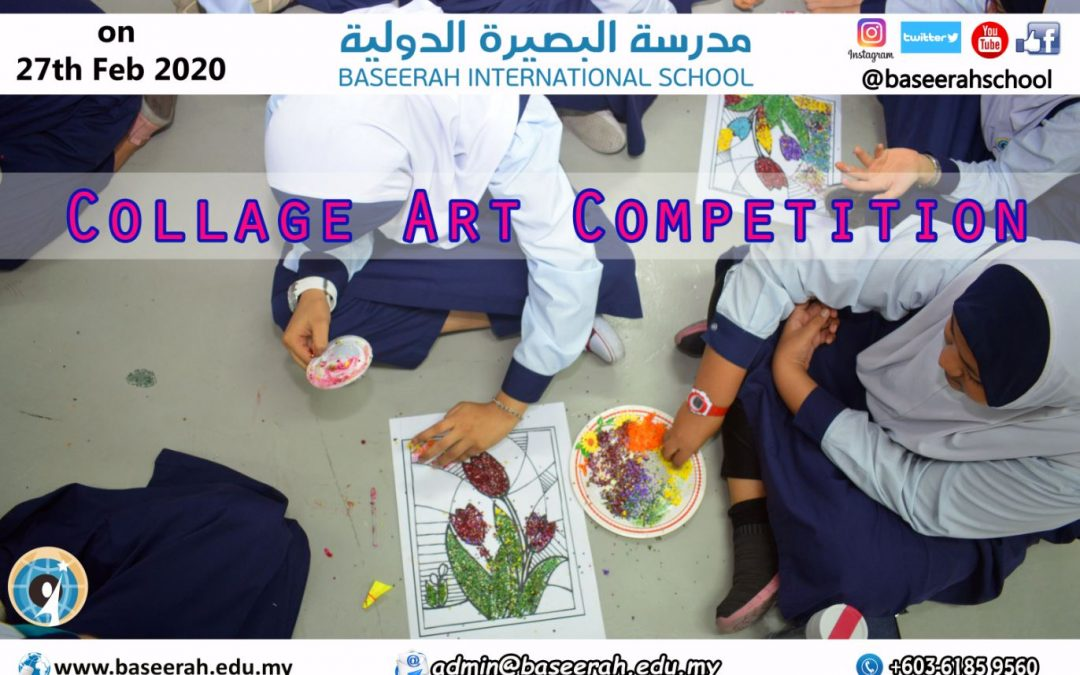 COLLAGE ART COMPETITION