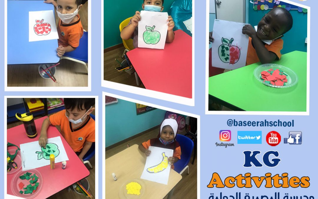 KG School Activities – www.baseerah.edu.my