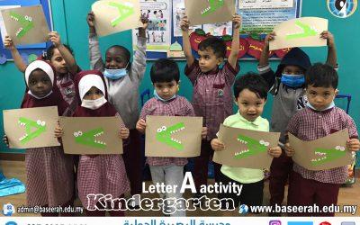"Letter ""A"" activity"