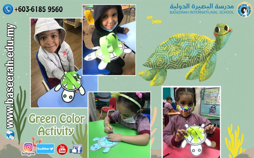 Green Color Activity