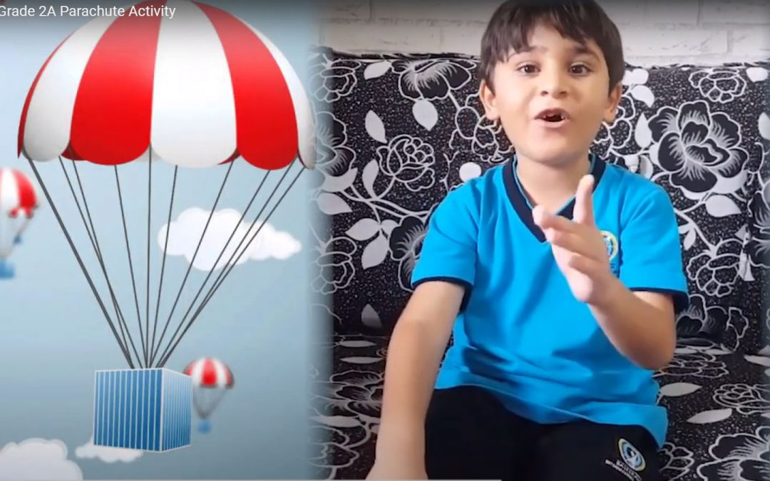 Ahmed Qaddoura Grade 2A Parachute Activity