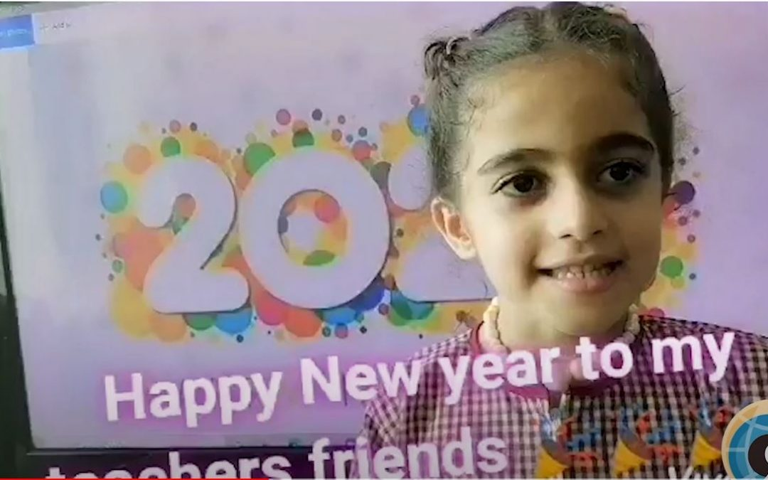 To Tr.Jamilah Happy New Year 2021 Message from Sara