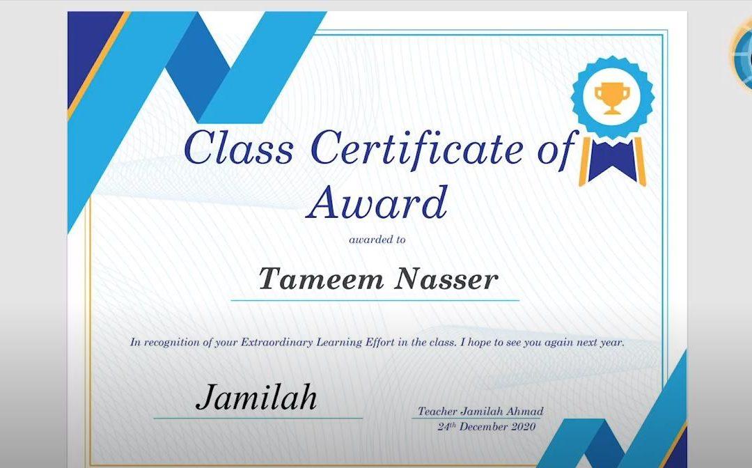 KG1 Certificates